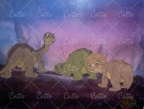 Littlefoot and friends